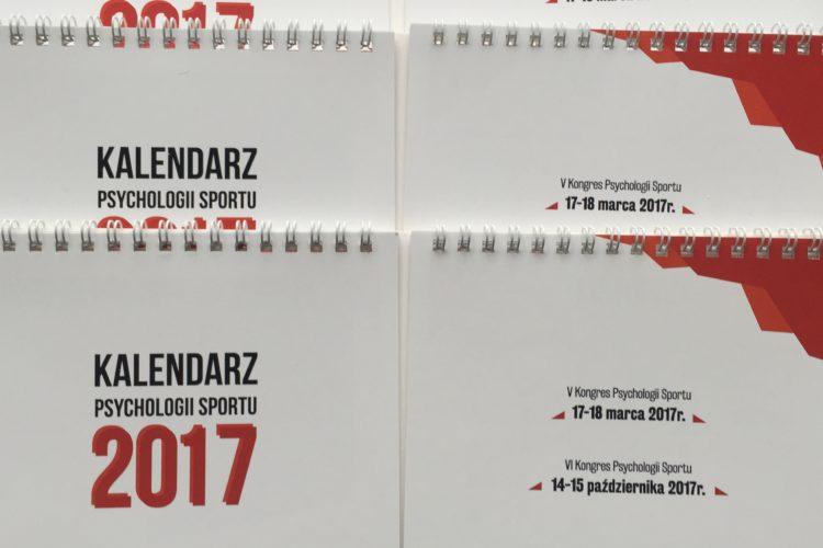 Kalendarz biurkowy 2017