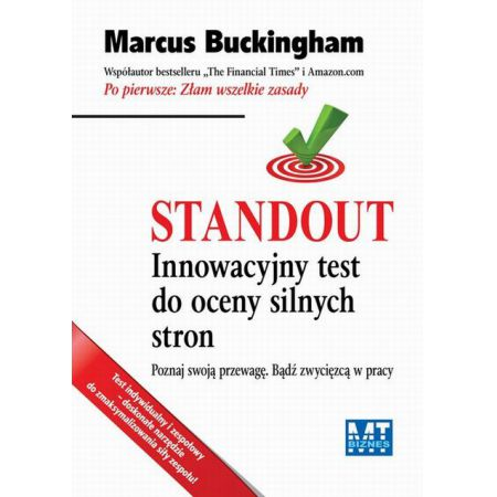 Standout Marcus Buckingham