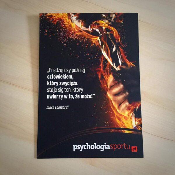 Podkładka do pisania - zamów wyjątkową podkładkę portalu Psychologiasportu.pl